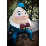 Humpty Dumpty close-up poster