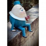 Humpty Dumpty side view poster